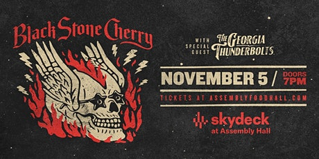 Black Stone Cherry on Skydeck at Assembly Hall tickets