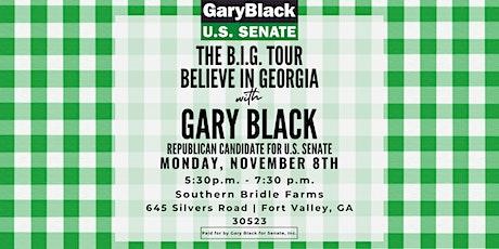 Gary Black for Senate B.I.G. Tour-Middle Georgia Event tickets
