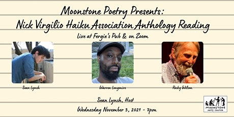 Nick Virgilio Haiku Association Reading: Lynch, Longmire, and Wilson tickets