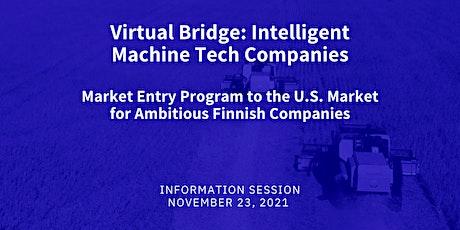 Virtual Bridge: Intelligent Machine Tech  Companies - Information Session tickets