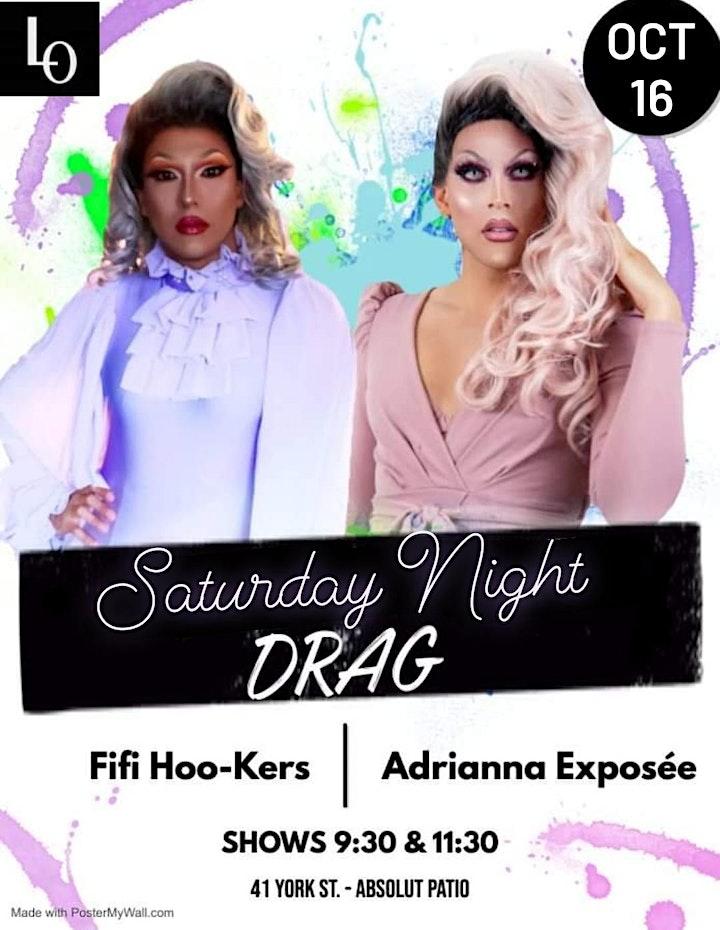 Saturday Night Drag - Adrianna Exposée & Fifi Hoo-kers - 11:30pm image