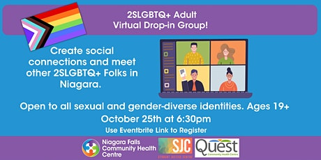 2SLGBTQ+ Adult Virtual Drop In Group! tickets