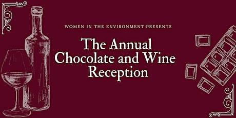 Chocolate & Wine, Annual Reception tickets