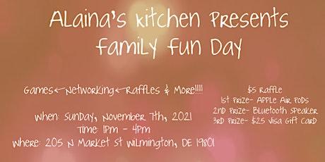 Alaina's Kitchen Presents Family Fun Day tickets