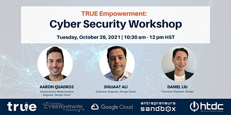 Part 2: Cyber Security Workshop tickets