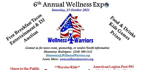6TH ANNUAL WELLNESS EXPO (OPEN TO THE PUBLIC) tickets