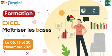 Formation EXCEL: Maitriser Les Bases -Nov21 billets