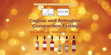 Cognac and Armagnac Comparison Tasting tickets