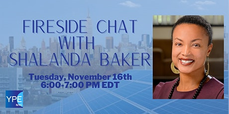 YPE NYC Hosts: A Fireside Chat with Shalanda Baker tickets