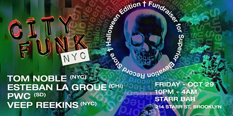 City Funk NYC Halloween Edition Fundraiser for Superior Elevation tickets