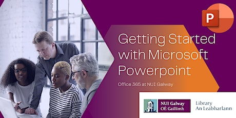 Getting Started with Microsoft Powerpoint tickets