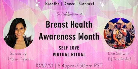 Breast Health Awareness Month Celebration with DJ Taz Rashid tickets