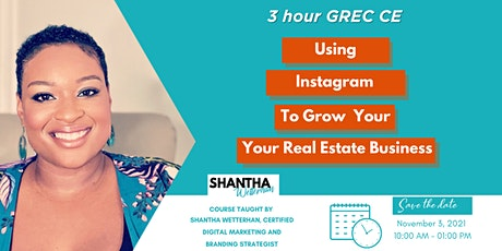 (3 Hour CE) Using Instagram to Grow Your Real Estate Business tickets