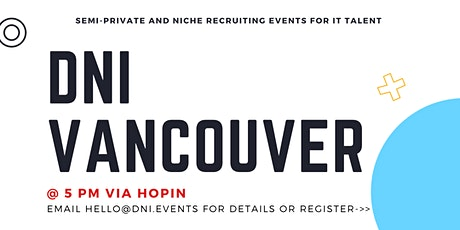 DNI Vancouver 11/16 Talent Ticket tickets