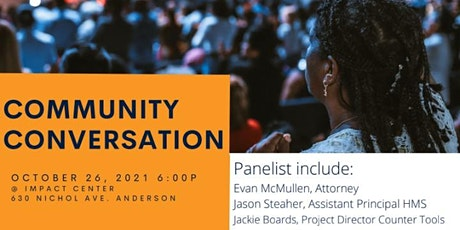 Community Conversation - In person or on Zoom tickets