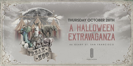 Freak-A-Zoo Halloween Extravaganza - Night 1 tickets