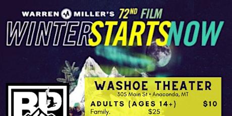 Warren Miller Ski Movie :  Winter Starts Now - Billy Poole Fnd fundraiser tickets