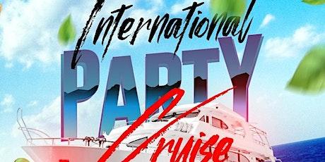 International Party Cruise New york city tickets