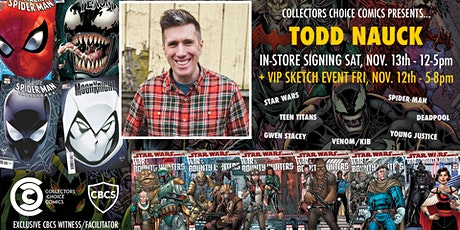 Todd Nauck Sketch - VIP Sketch Event tickets