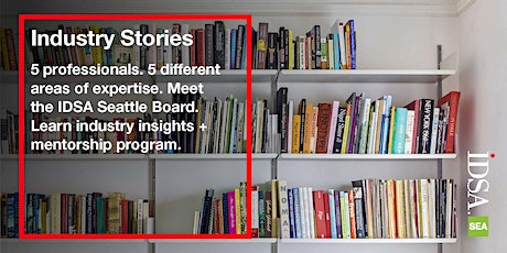 Industry Stories with IDSA Seattle tickets