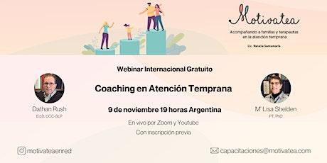 Coaching en Atención Temprana Dathan Rush y M'Lisa boletos