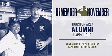 Remember November 2021: Houston Alumni Happy Hour and Fundraiser tickets