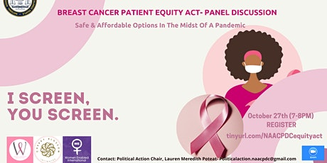 Breast Cancer Patient Equity Act Panel Discussion tickets