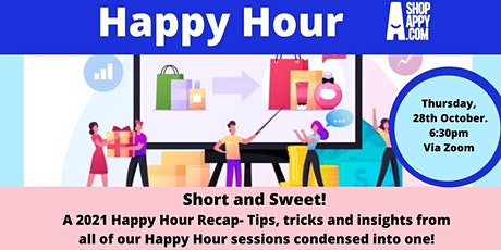 Happy Hour- Short and Sweet! tickets