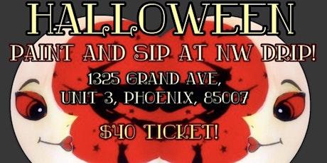 Halloween Paint & Sip tickets