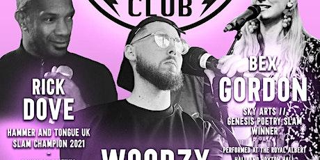 The Mother Wolf Club ft. Woodzy + Rick Dove + Bex Gordon + Sara Karpanen ++ tickets