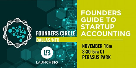 Founders Guide to Startup Accounting tickets