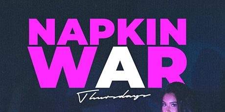 Napkin War Thursdays HU & Morgan State Homecoming Edition tickets