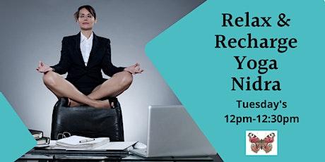 Relax & Recharge Yoga Nidra tickets