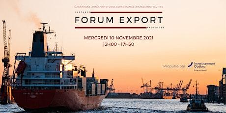 Forum Exportation Mode 2021 billets