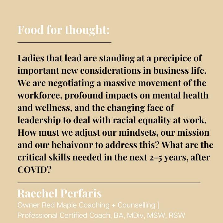 Post Pandemic Leadership with Raechel Pefaris image