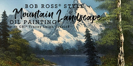 Bob Ross® Mountain Landscape Oil Painting tickets