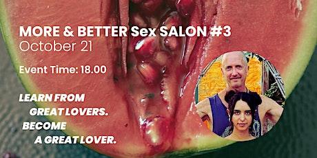 MORE & BETTER S*x SALON #3 boletos