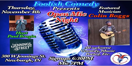 Open Mic Night in the Parlor tickets