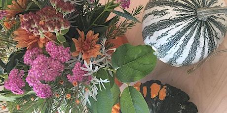 Pumpkin Flower Arranging Workshop tickets
