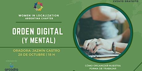 WLAR: Orden digital (Y mental) por Jazmín Castro entradas