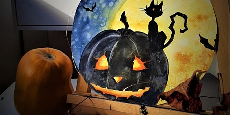 Art for Adults: Halloween Paint Nite tickets