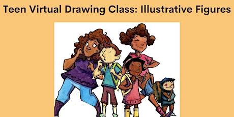 Teen Virtual Drawing Class: Illustrative Figures tickets