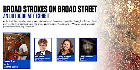 Atlanta City Studio Presents: José Awo Broad Strokes on Broad Street tickets