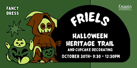 Friels Halloween Heritage Trail + Cupcake Decorating tickets