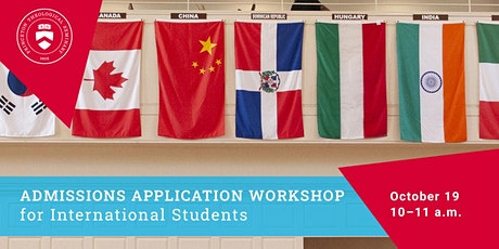 "PTS Virtual Open House: ""International Student Application Process"" tickets"