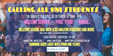 Calling all Liverpool Uni Students tickets