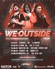 We Outside Tour - Cornwall ON tickets