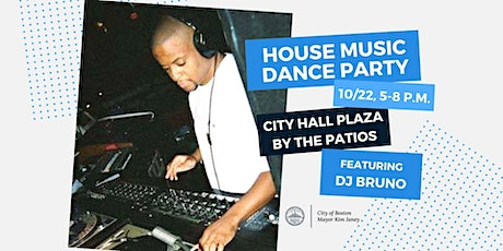 HOUSE MUSIC DANCE PARTY @ CITY HALL PLAZA tickets