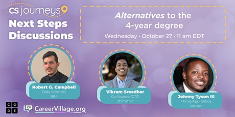 Alternatives to the 4-year CS degree tickets