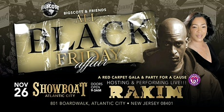 All Black Friday Holiday 13th Annual Affair with Big Scott & Friends tickets